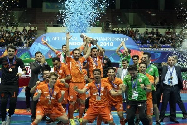 VIDEO: Mes Sungun vs Thai Son Nam in final of AFC Futsal Club C'ship