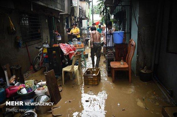 فلم/ فلپائن میں سیلاب سے ہزاروں افراد بے گھر