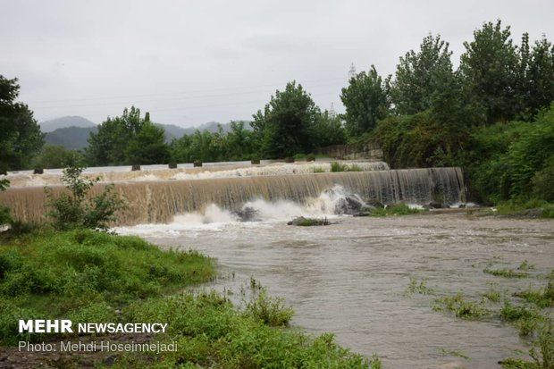 A glance at rage of rivers in LAVANDEVILL district, Astara border city