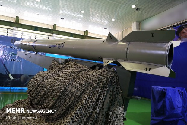 Unveiling of new generation of Fateh-e Mobin missiles