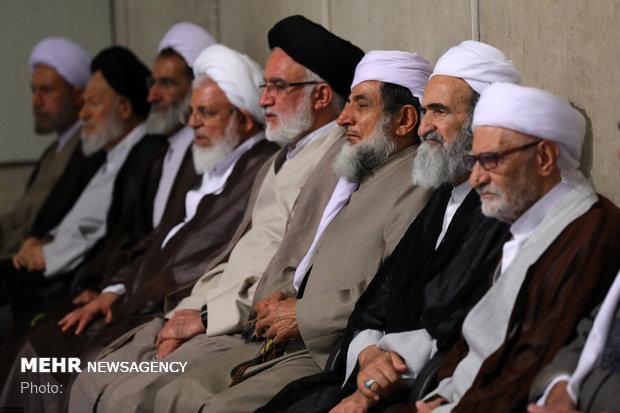Halkın farklı kesimleri İslam Devrimi Lideri'yle görüştü