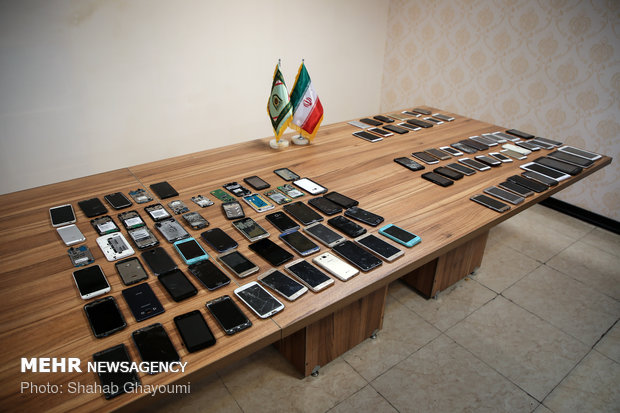 دستگیری ۲۸ سارق تلفن همراه در بیمارستانهای پایتخت –  | اخبار ایران و جهان