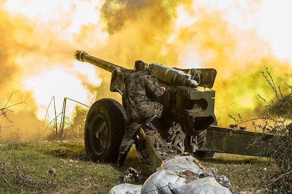 Suriye ordusundan teröristlere karşı operasyon
