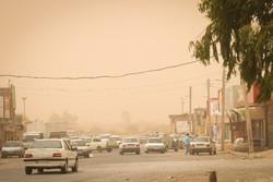 سرعت وزش باد در زابل به ۷۶ کیلومتر بر ساعت رسید