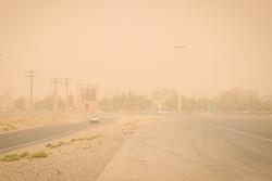 سرعت وزش باد در زابل به ۱۰۱ کیلومتر بر ساعت رسید