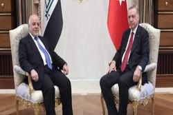 ترک صدر اردوغان اور عراقی وزیر اعظم حیدر العبادی کی ملاقات