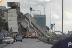 سقوط پل در ایتالیا