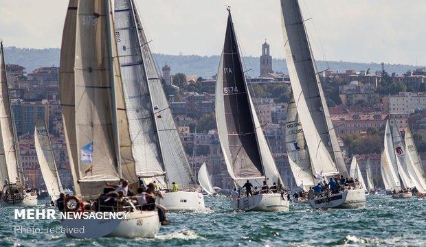 مسابقات قایق های بادبانی در بارسلونا