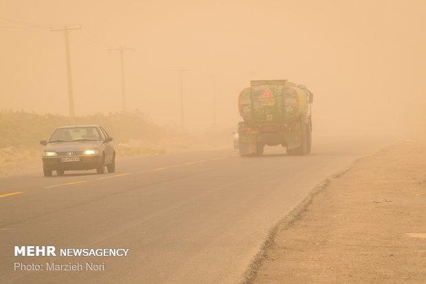 وزش باد شدید همراه با گرد و خاک سیستان و بلوچستان را فرا میگیرد
