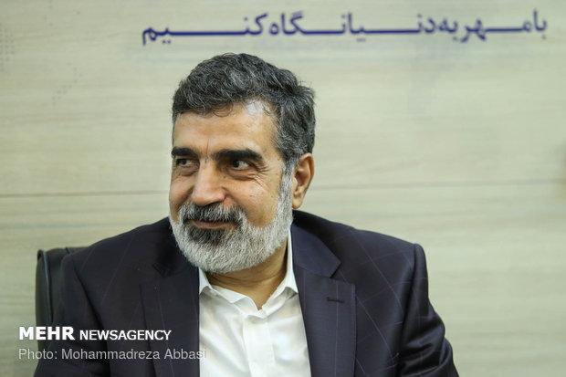 بازدید سخنگوی سازمان انرژی اتمی از خبرگزاری مهر