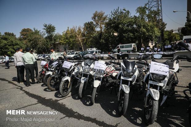 سومین طرح دستگیری سارقین سطح شهر تهران