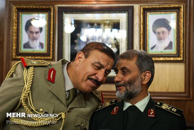 امضای تفاهم نامه مرزبانی ایران و عراق