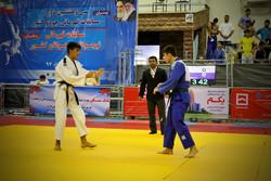 پایان مسابقات جودو قهرمانی نوجوانان کشور در سنندج/کردستان سوم شد