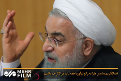 Caspian convention barred NATO: Rouhani