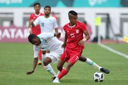 Asian Games: Iran football held by Saudi Arabia