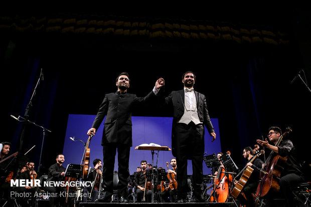 Violinist Ghafari performs in Tehran