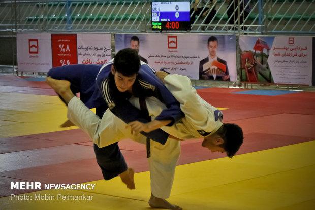 مسابقات قهرمانی جودو نوجوانان کشور به میزبانی کردستان