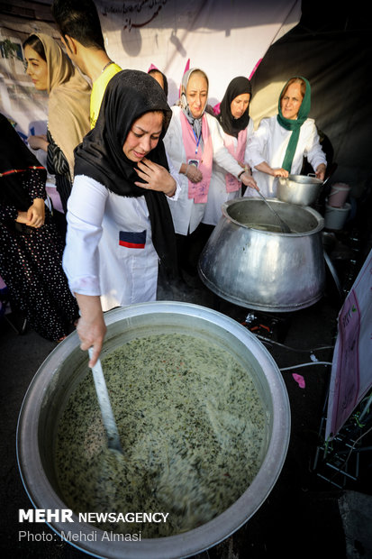 13th national festival of Aush in Zanjan