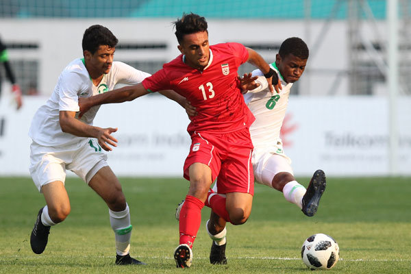 تساوی تیم فوتبال امید ایران برابر عربستان/ یک امتیاز با خوششانسی