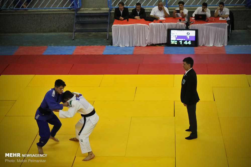 مسابقات قهرمانی جودو نوجوانان کشور