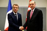 Erdoğan ile Macron görüşmesi başladı