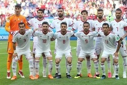 Iran still tops Asian football team in FIFA latest ranking