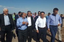 وزیر راه . عباس اخوندی در سفر به شاهرود و میامی  - کراپشده