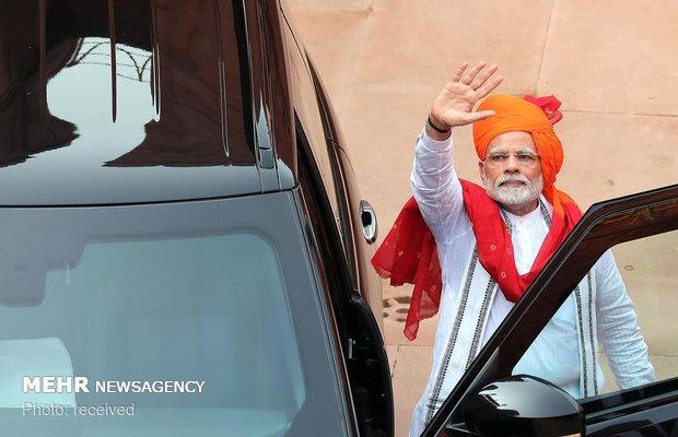 مراسم روز استقلال هند