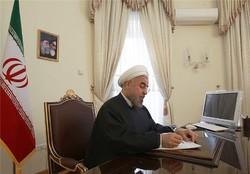 Pres. Rouhani expresses condolence over loss of Ezatollah Entezami
