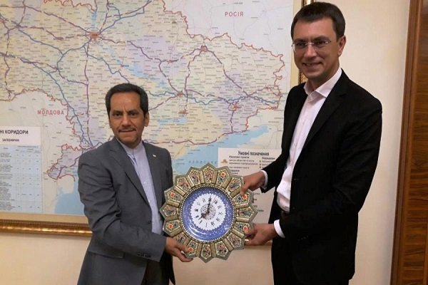 Ukraine calls for increased coop. with Iranian engineering companies