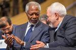 Zarif describes Annan as towering global leader
