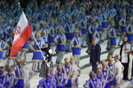 رژه کاروان ورزش ایران در بازیهای آسیایی اندونزی