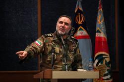 """مؤتمر """"تآزر وحدتي الطيران لدى القوات البرية لكل من الجيش وحرس الثورة الاسلامية"""""""