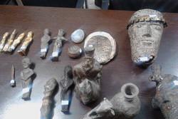 ۵ شی تاریخی در اسدآباد کشف شد