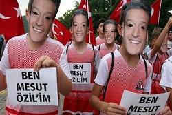 Devrek'te, Mesut Özil maskeli yürüyüş