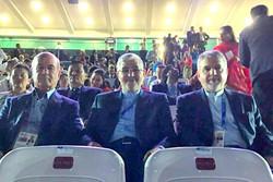کدام مسئول ورزش ایران در افتتاحیه بازیهای آسیایی حضور داشتند؟