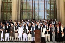 هیأت رهبری شورای عالی صلح و شورای سراسری علمای افغانستان