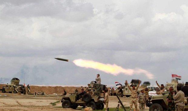 """الحشد الشعبي يعلن استهداف أكبر معقل لـ""""داعش"""" في تلال حمرين"""