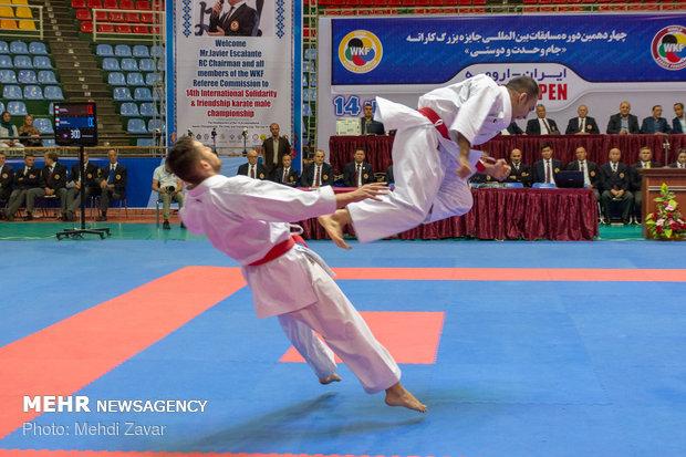 چهاردهمین دوره رقابت های کاراته جام وحدت و دوستی در ارومیه