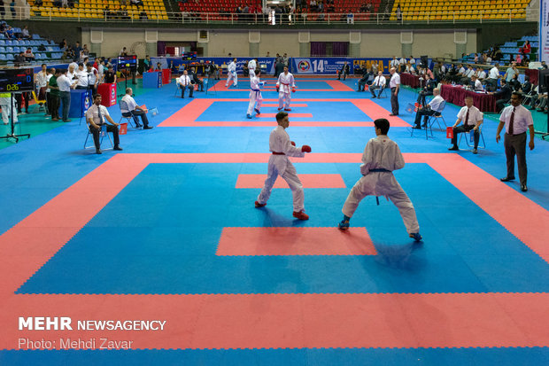Iran wins intl. karate C'ships in Urmia