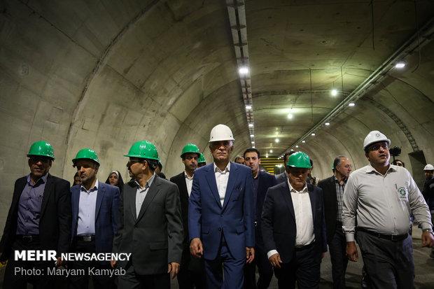 Tehran Mayor visits urban projects