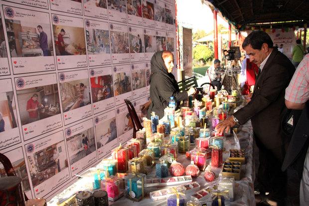 Iran Art Market, Exhibition underway at Razi Park in Tehran