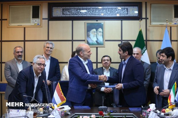 Iran, the Netherlands ink MoU on food security