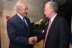 بنیامین نتانیاهو و جان بولتون