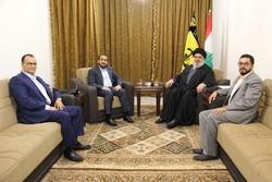 دیدار هیاتی از انصارالله یمن با سید حسن نصرالله