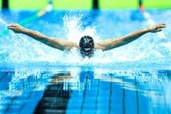 نتایج دو شناگر ایران در  ۵۰ متر آزاد