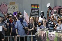 تظاهرات مخالفان سلاح در آمریکا