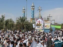 برگزاری مراسم عرفه در ۴ نقطه شهر کرمانشاه