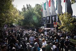 Funeral procession for Iranian actor Ezzatollah Entezami