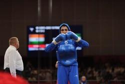 İranlı kadınların sportif başarıları devam ediyor